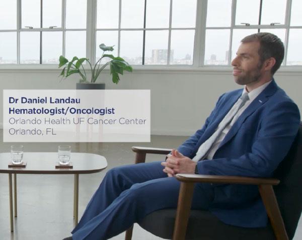 Dr. Daniel Landau Hematologist/Oncologist