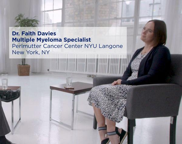 Dr. Faith Davies Multiple Myeloma Specialist